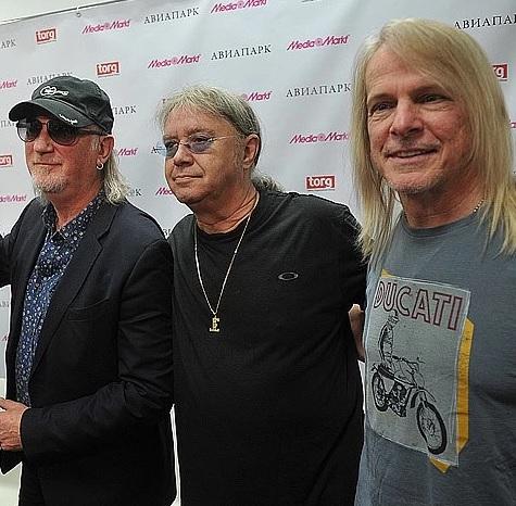 Концерт группы Deep Purple 4 июня
