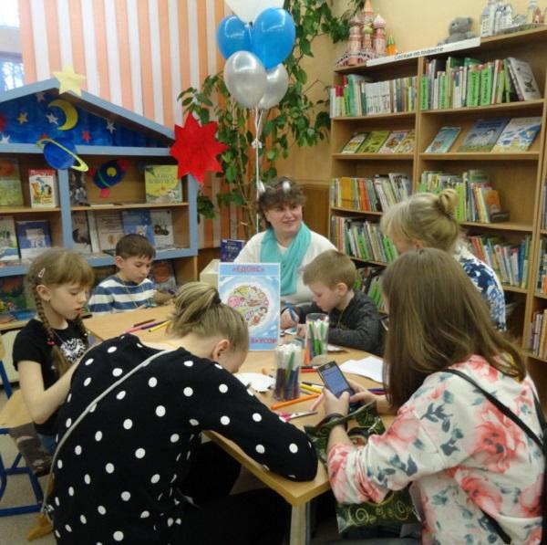 Библионочь в детской библиотеке «Радуга»