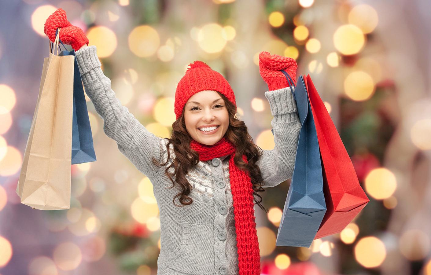 Новогодние картинки для магазина одежды