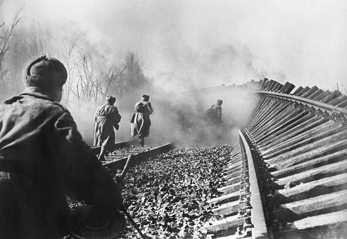 железные дороги в начальный период вов фото отеков помогает массаж