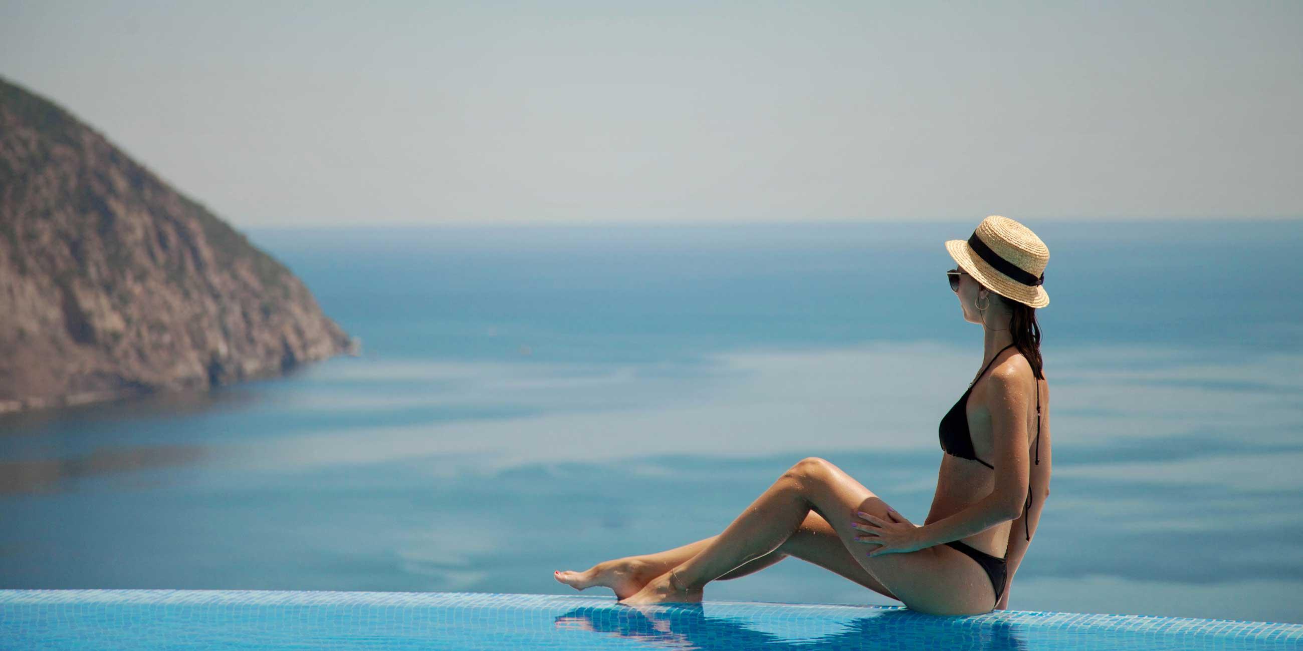 бассейн отеля гурзуф ривьера в ялте