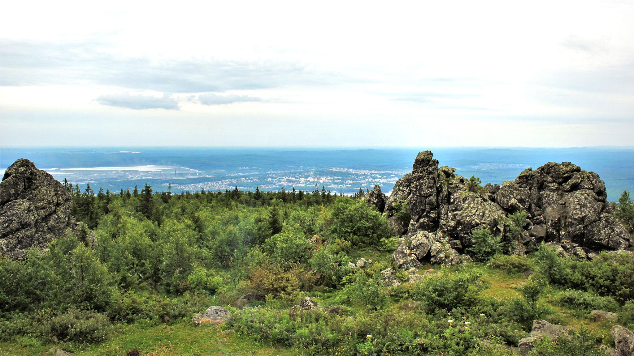 Уральские горы рисунок