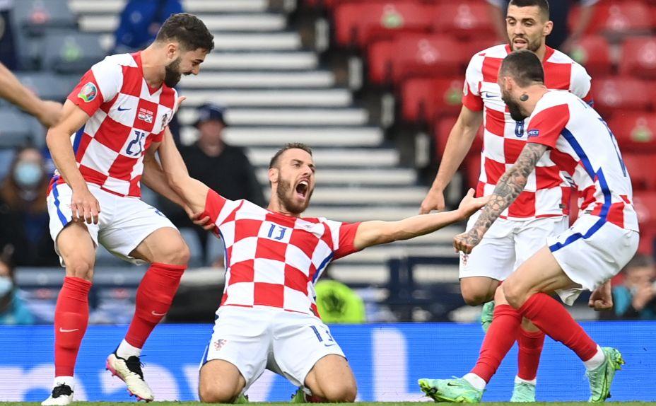 Хорват Никола Влашич Евро-2020 записал себе в актив. Фото: Reuters