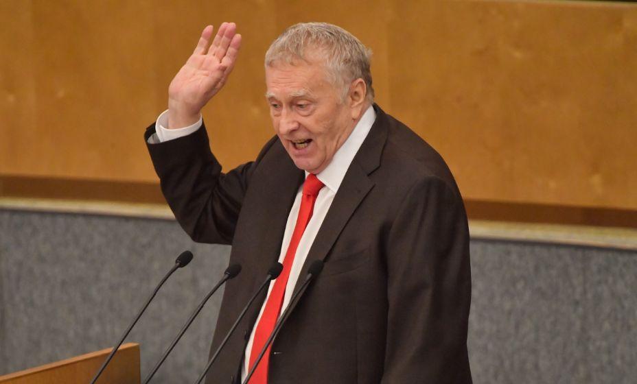 Лидер ЛДПР Владимир Жириновский предложил украинцам нанести на форму серп и молот. Фото: Global Look Press