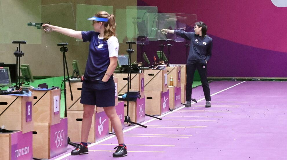 Виталина Бацарашкина - стрельба - Олимпиада