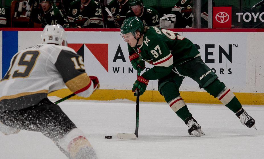 Нападающий «Миннесоты Уайлд» Кирилл Капризов отлично проявил себя в первом сезоне в НХЛ и хочет подписать с командой краткосрочный контракт. Фото: ТАСС