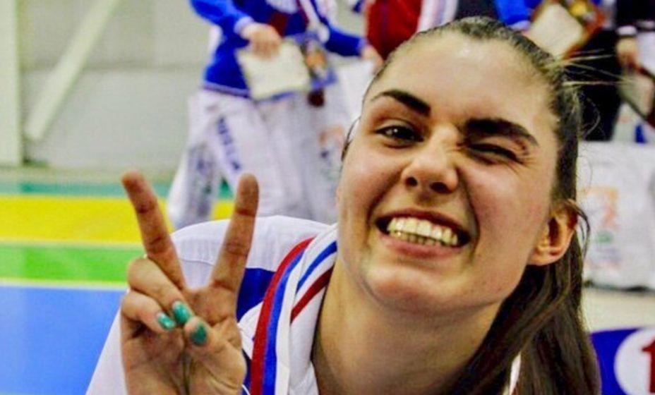 София Позднякова празднует успех. Фото: Инстаграм Софии Поздняковой