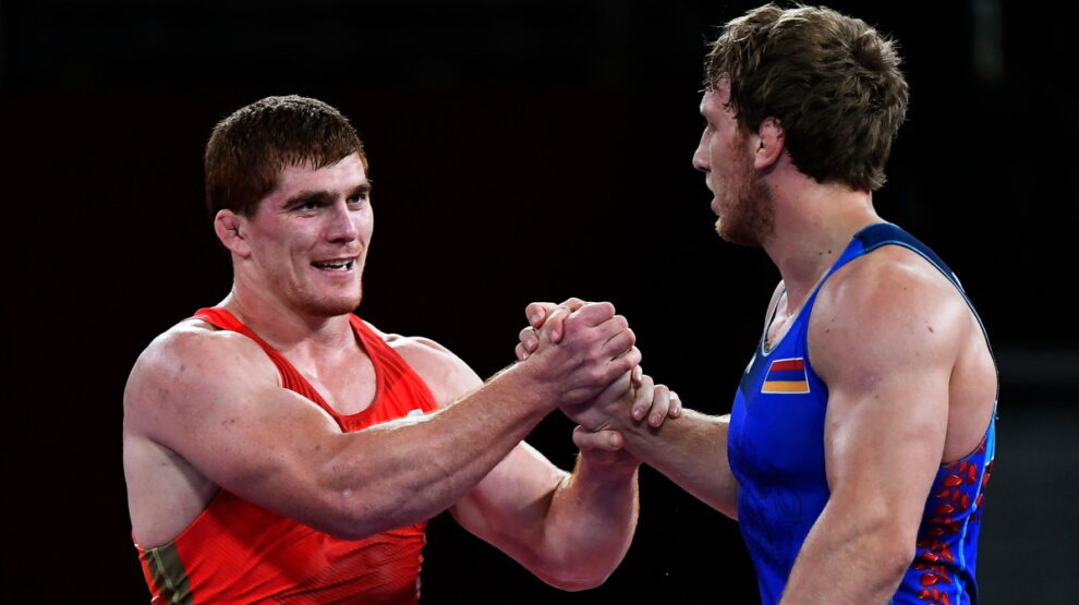 Муса Евлоев - борьба - Олимпиада