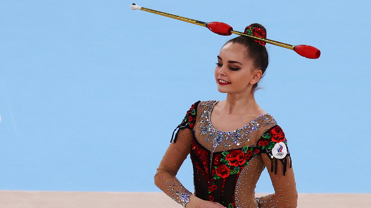 Арина Аверина осталась вне пьедестала почета на Олимпиаде в Токио. Фото: Reuters