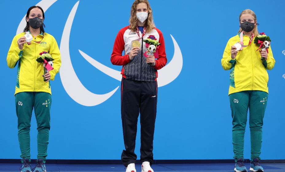 Валерия Шабалина завоевала золотую медаль на Паралимпиаде в Токио. Фото: Reuters