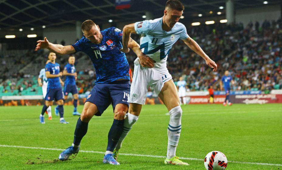 Словенцы и словаки так и не смогли выявить победителя. Фото: Reuters