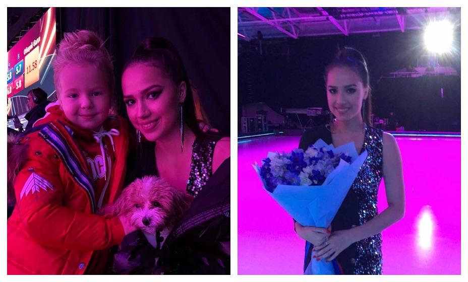 Алина Загитова представала в новом образе на ледовом шоу. Фото: Instagram teamzagitova